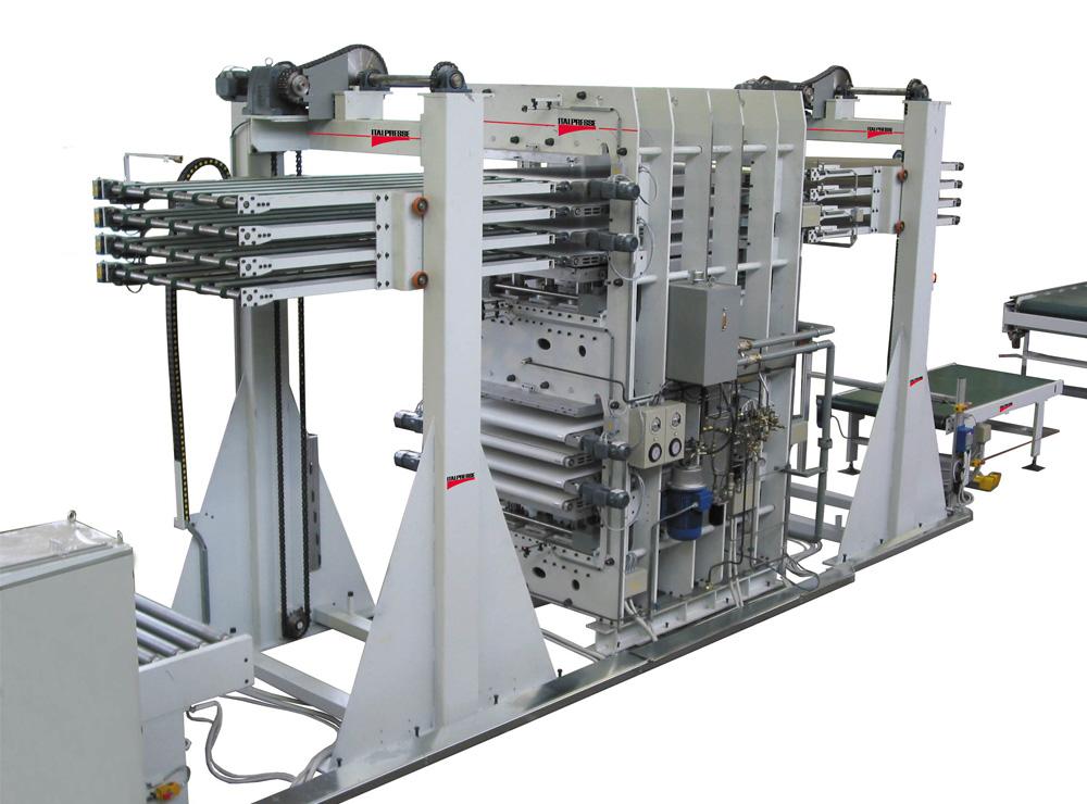 Linea a carico automatico MAGNUM a 4+4 vani