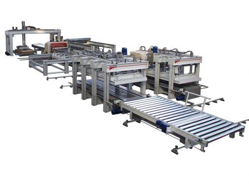 Linea automatica di pressatura a freddo (PMDE)