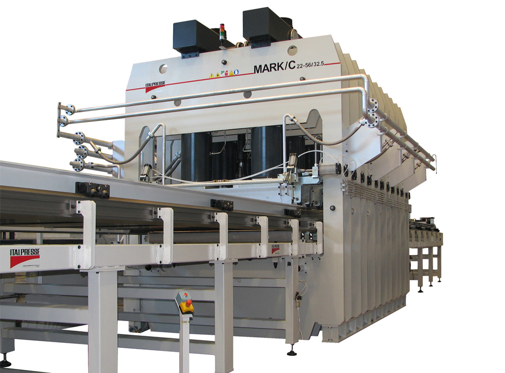 Linea short cycle MARK per melamina