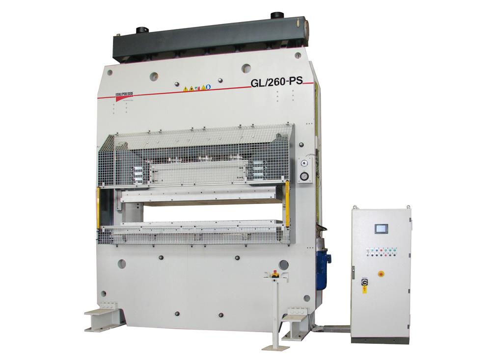 Pressa GL per stampaggio lamiere portoncini esterni